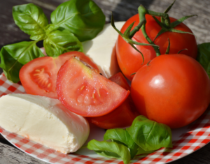 Nutrition: Organic tomatoes and lettuce make for a healthy salad